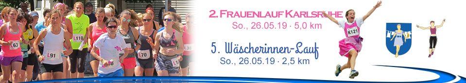5. Wäscherinnen-Lauf – 2. Frauenlauf Karlsruhe